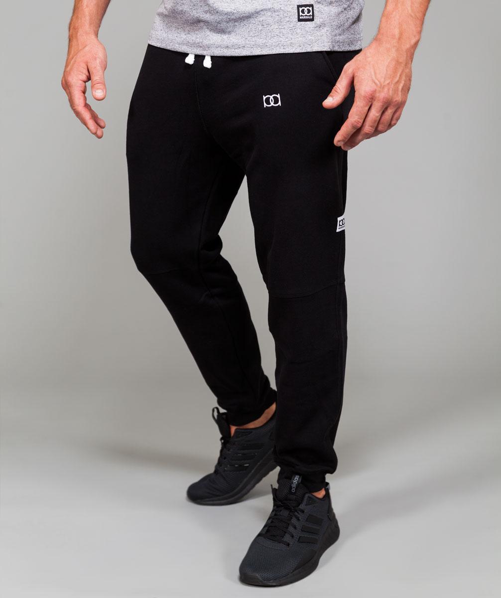 Fleece Sweatpants | Onyx Black kopen? Lees er eerst hier alles over voordat je koopt. Marrald ervaringen Katoen maat L  Heren