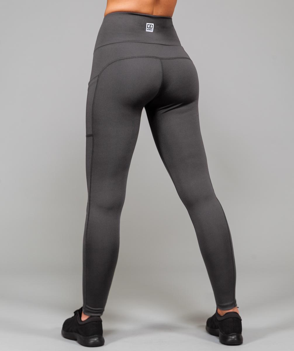 High Waist Pocket Legging | Dark Grey kopen? Lees er eerst hier alles over voordat je koopt. Marrald ervaringen  maat XS  Dames